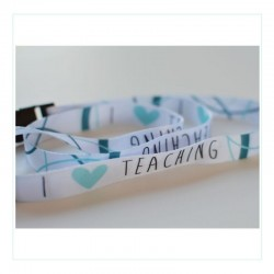Lanyard - I love Teaching