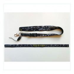 Pack: Lanyard + pulsera...