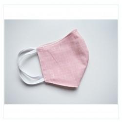 Mascarilla - Caligrafía rosa