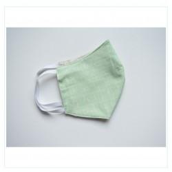 Mascarilla - Caligrafía verde
